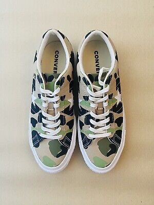 CONVERSE One Star Archive Prints Ox Duck Camo SIZE UK 8 • 45£