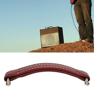 $ CDN15.56 • Buy PU Leather Musical Instruments Parts Guitar Speaker Amp Handle Brownish Red