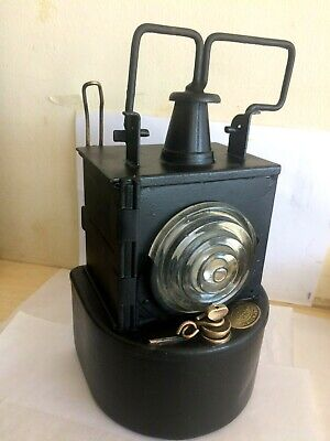 Lms Railway Complete Oil Signal Lamp Ribbed Lens Plated Petroleum Only 1930 • 77.87£