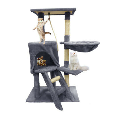 Cat Tree Condo Furniture House Climbing Tower Scratching Playing Activity Center • 30.95£