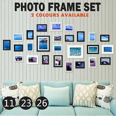 £18.99 • Buy 26x Multi Aperture Pictures Wall Photo Frames Set 6x4 Family Collage Home Decor