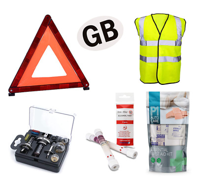 £17 • Buy STYLARIZE® Universal European Car Travel Abroad Kit Europe France And GB Sticker