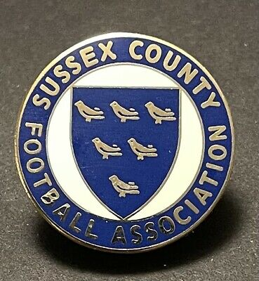 £2.50 • Buy Sussex County FA Non-League Football Pin Badge