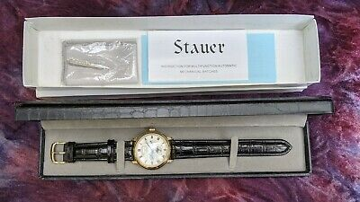 £91.62 • Buy Men's Stauer 27 Jewels Automatic Chronograph #13452 W/box And Paperwork