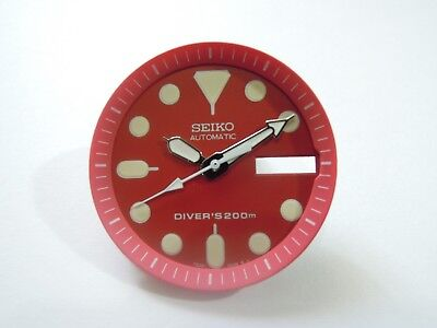 $ CDN18.88 • Buy New Replacement Seiko Red Dial / Hands Fits Seiko Skx013 Medium Diver's Watch