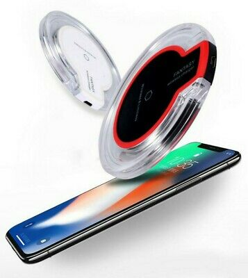 $ CDN6.25 • Buy Wireless Charging Pad Qi Charger For Samsung S10 S9 S8 IPhone 11 Pro XR XS Max 8