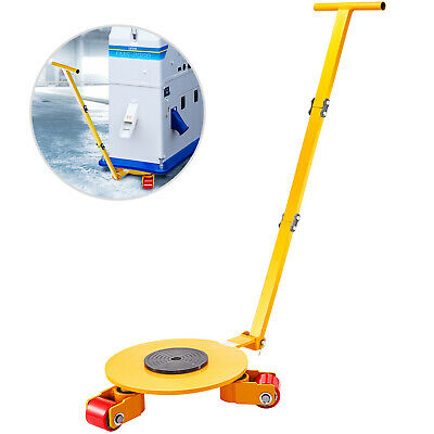 $159.99 • Buy Machinery Mover Machine Moving Skates 8800LBS/4T, Machinery Skate Roller, W/ Rod