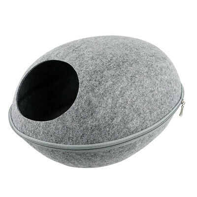 £13.29 • Buy Cat Cave Beds Dog Puppy Pets Sleeping House Bed Mat Felt Warm Igloo Nest Caves