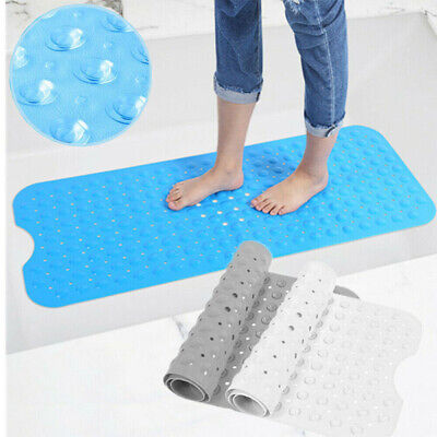 Extra Large Non-Slip Bath Mat Bathtub Bathroom Shower Mat Rubber Strong Suction • 8.59£
