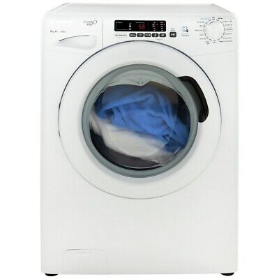 View Details Candy GVS148D3 Free Standing 8KG 1400 Spin Washing Machine A+++ White • 229.99£