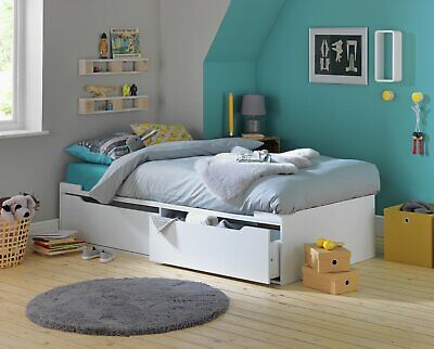 £140 • Buy Argos Home Lloyd Cabin Bed Frame - White