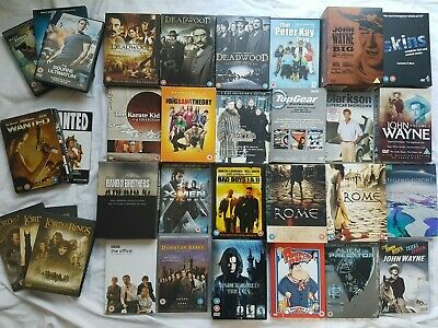 DVDs - Boxsets - Adventure, TV, Comedy, Westerns, Childrens' - Take Your Pick E • 4£
