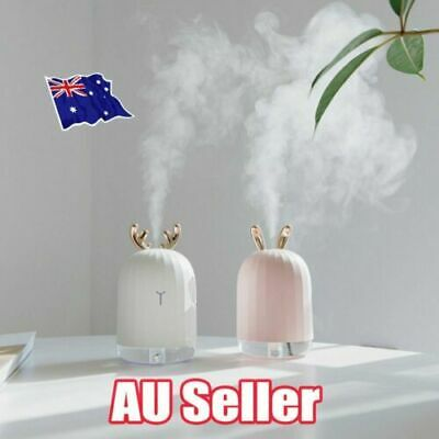 AU18.52 • Buy 7 LED USB Ultrasonic Air Humidifier Essential Oil Aroma Diffuser Aromatherapy AU