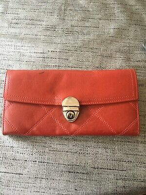 Jane Shilton Dark Red Soft Leather Large Purse New Other • 6.50£