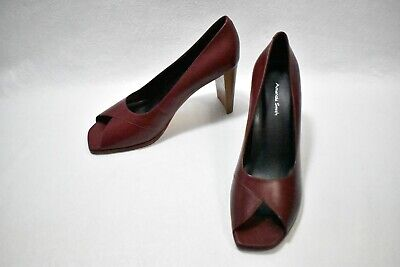 $24.99 • Buy Amanda Smith Shoes High Heels Red Size 9 Women's New Leather