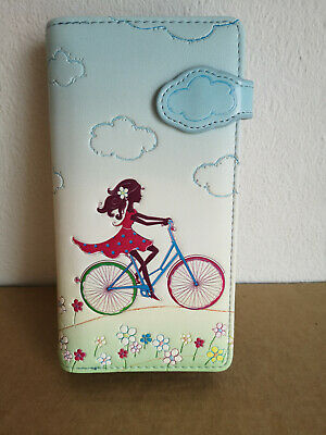 BB Klostermann Purse Wallet Case Shag Wear Bicycle Girl 50259 • 23.75£