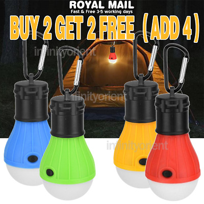 £4.78 • Buy LED Camping Lights Lanterns Battery Powered Night Lights Bulb Camping Equipment