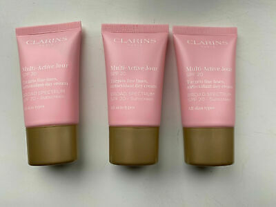 £16.99 • Buy Clarins Multi Active Jour Day Cream SPF20 45ml (FOIL SEALED) (15ml X3)