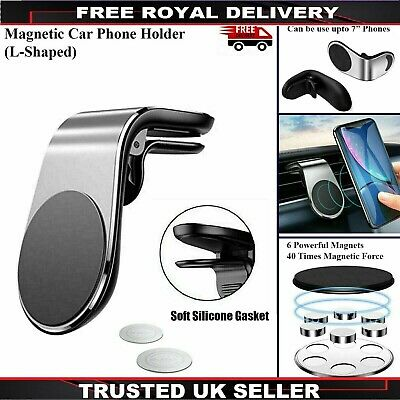 £4.15 • Buy Magnetic Car Phone Holder Air Vent Mount For Samsung Galaxy S20 S20+ Plus Ultra