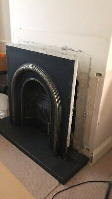 Cast Iron Victorian Style Fireplace • 0.99£