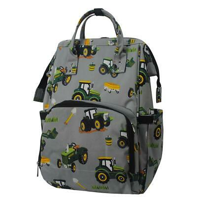 AU59.34 • Buy Tractor Farm Print NGIL Diaper Bag Baby Kids Toddler Mom Backpack Free Ship! NEW