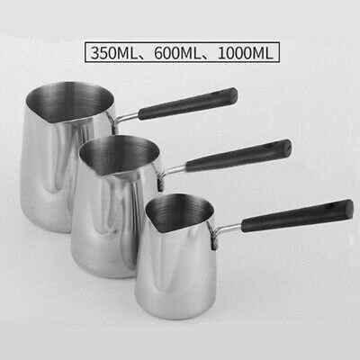 Wax Melting Pot Large Stainless Steel Jug Wax Melting/Pouring Pitcher Jug Pots • 10.51£