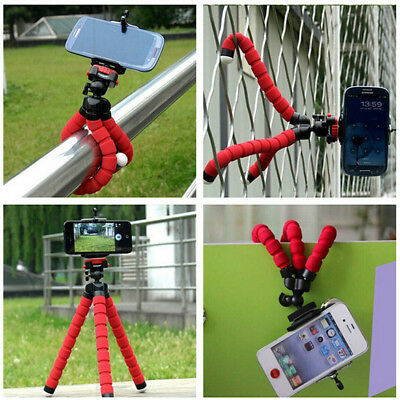£2.79 • Buy 1PC Universal Mini Phone Camera Clip Self-Timer Phone Holder Tripod Accessories