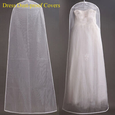 Wedding Dress Garment Protector Dust-proof Covers Clothing Storage Bags Cover UK • 2.96£