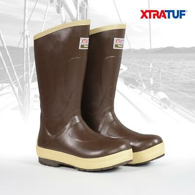 XTRATUF Men's 15  Legacy Insulated Brown Lined Deck Sailing Boots (22291G) • 79.95£