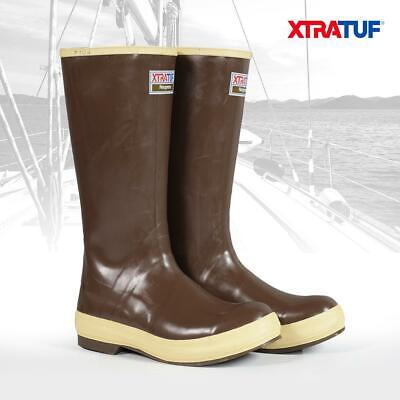XTRATUF Women's 15  Legacy Non-Insulated Brown Lined Deck Sailing Boots (22272G) • 62.95£