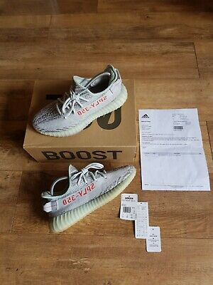 Yeezy Boost Blue Tint 350 V2 UK Size 7 Adidas Trainers Sneakers Hype Shoes Sport • 206.99£