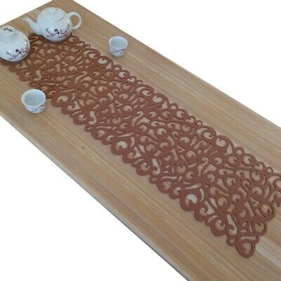 AU7.98 • Buy 1pc Table Runner Felt Dining Placemat Tablecloth Home Floral Tea Cover Mat Decor