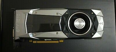 AU305 • Buy NVIDIA - Founders Edition GeForce GTX 1070 8GB GDDR5 PCI-E 3.0 Graphics Card