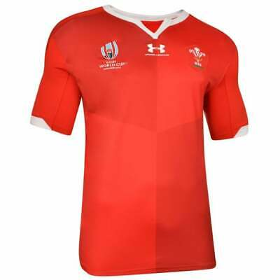Wales Home Rugby Shirt 2019/20 Rugby Union World Cup Shirt • 25.99£