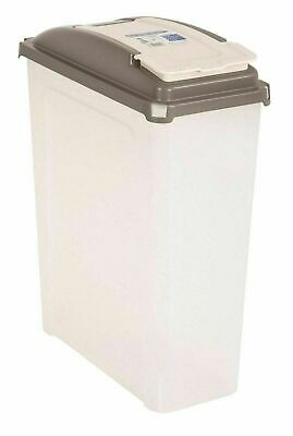 £15.49 • Buy Large Pet Food Container Dog Cat Animal Dry Feed Storage Box Bin Bird Seed 25L
