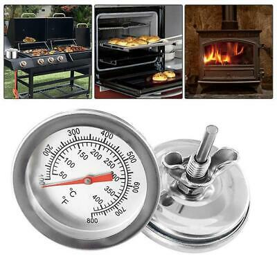 Barbecue BBQ Smoker Grill Thermometer Temperature Gauge 50-500°C Easy Read UK • 4.32£
