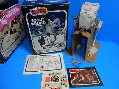 $ CDN465.90 • Buy Star Wars Vintage 1982 Kenner Canadian Canada GDE Scout Walker Vehicle ~ Boxed