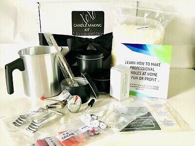 £34.99 • Buy  Ultimate 1 Kg Soy Wax Candle Making Kit With Empty Tins / Melt Pot /  Tools/ Uk