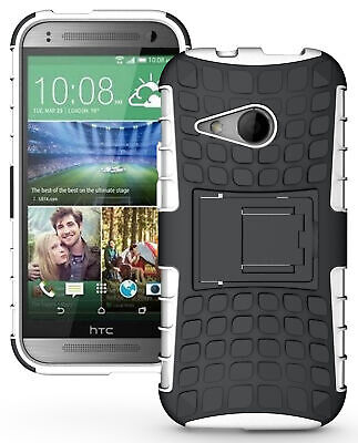 AU14.15 • Buy White Grenade Rugged Tpu Skin Hard Case Cover Stand For Htc One Remix One Mini-2