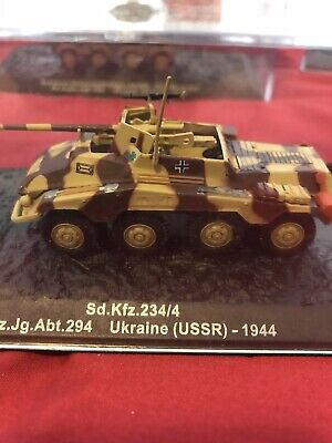 Diecast 1/72 WW2 German Sd.Kfz 234/4. Open To Offers And Combined Postage • 10.99£