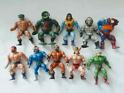 $89 • Buy Vintage Masters Of The Universe Lot Of Ten Figures.