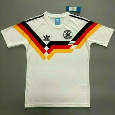 Retro Jersey West Germany 1990 Shirt Memorabilia Football Shirts SELLER New • 19.99£