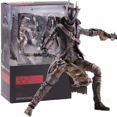 Figma Bloodborne Hunter 367 Max Factory Action Figure 15cm PVC Model Toy Gift • 19.95£