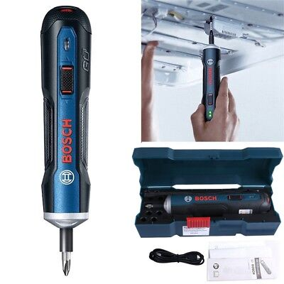 View Details Bosch Go 3.6V Smart Cordless Screwdriver Electric Screw Tool Set Kit • 33.70£