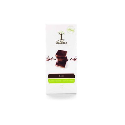 Balance Stevia Dark Chocolate Bar - 85g • 5.50£