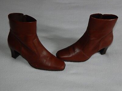 Pavers  Womens Brown  High Heel Ankle  Boots Uk 5 ,eu 38 • 9.99£