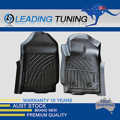 AU134.90 • Buy 3D Waterproof Front Rubber Floor Mats Fit For Ford Ranger PX PX2 PX3 2011-19 AU