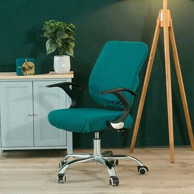 AU10.32 • Buy 1set Office Chair Cover Computer Seat Cover Armchair Slipcover Elastic Washable