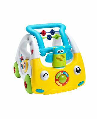 Nuby Interactive First Steps Activity Push Along Walking Musical Baby Walker Toy • 32.99£