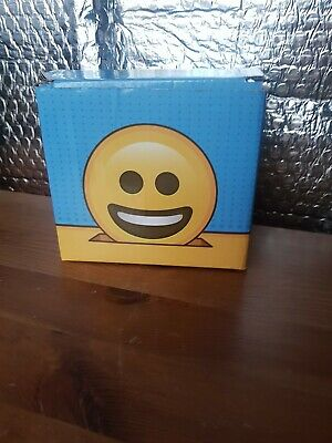 Emoji Emoti Money Box Piggy Bank New In Gift Box Lol Poop Poo Big Smile • 8£